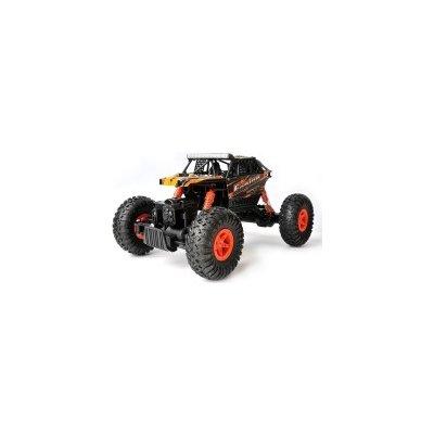 TOP 2. - WL Toys RC crawler Engine oranžová 26 cm 2,4 GHz 4WD RTR proporcionálna jazda 1:18