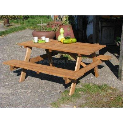 TOP 4. - zahradní souprava PIKNIK, dřevěná